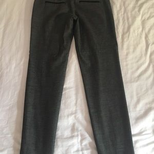 Express Grey Ankle Editor Pants